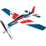 Aerobatic Jet, Rubberband Powered Plane