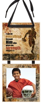 I Can Do Everything Through Him Photo Plaque