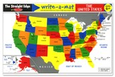 The United States Write-A-Mat, Package of 6