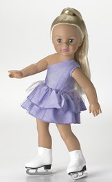 Jazzy Ice Skater, 18 Doll