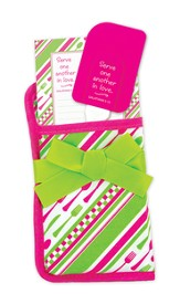 Serve One Another, Pink and Green Pot Holder Set