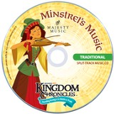 Kingdom Chronicles Music Leader Set, Traditional (Split Track Music CD & Helps CD)