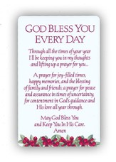 Christmas Prayer Cards, Set of 12