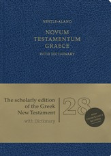 Novum Testamentum Graece, 28th Edition (NA28)  with Dictionary