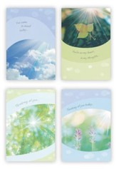 Sunny Sentiments Thinking of You Cards, Box of 12