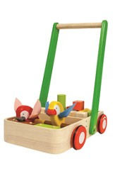 Baby Walker with Birds and Blocks
