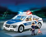 PLAYMOBIL ® Police Car with Flashing Light