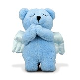 Prayer Bear, Blue
