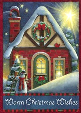 Christmas Wishes Christmas Cards, Pack of 5