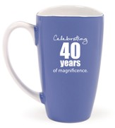 Celebrating 40 Years of Magnificence Mug