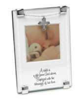 God's Gift Baptism Photo Frame