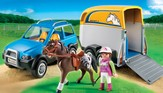 PLAYMOBIL ® SUV with Horse Trailer