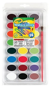 Crayola, Washable Watercolors, 24 Pieces