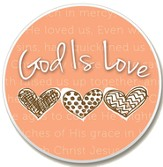 God is Love Auto Coaster