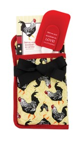 Serve One Another In Love, Potholder Gift Set