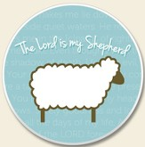 The Lord is my Shepherd Auto Coaster