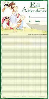 Attendance Chart Jesus and the Children Tube
