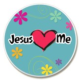 Jesus Loves Me Auto Coaster