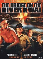 The Bridge On the River Kwai (1957), DVD