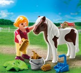 PLAYMOBIL ® Girl with Pony Accessory