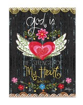 God Is the Strength Of My Heart Journal