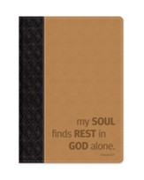 My Soul Finds Rest In God Alone Journal