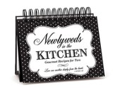 Newlyweds In the Kitchen Easel Recipe Book
