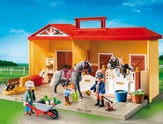 PLAYMOBIL ® Take Along Horse Stable