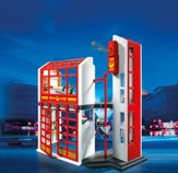 PLAYMOBIL ® Fire Station with Alarm Playset