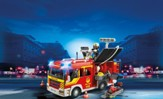 PLAYMOBIL ® Fire Engine with Lights and Sounds Playset