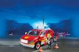 PLAYMOBIL ® Fire Chief's Car with Lights and Sounds Playset
