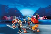 PLAYMOBIL ® Firefighters with Water Pump Playset