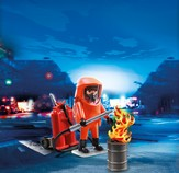 PLAYMOBIL ® Special Forces Firefighter Playset