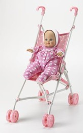 Baby Goes For a Ride: Stroller and Doll Set