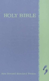 NRSV Children's Bible, Blue/Green Hardcover
