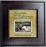 Friendship is God's Way Framed Print