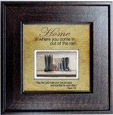 Home is Where You Come in Out of the Rain Framed Print