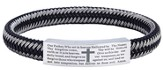Men's Faith Bracelet, Woven