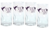 Taste and See That the Lord is Good, Set of 4 Drinking Glasses