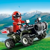 PLAYMOBIL ® Mountain Rescue Quad