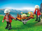 PLAYMOBIL ® Mountain Rescuers with Stretcher