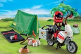 PLAYMOBIL ® Biker at Camp Site
