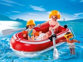 PLAYMOBIL ® Swimmers with Raft