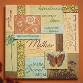Mom Collage Plaque