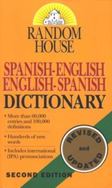 Random House Spanish-English\English-Spanish Dictionary