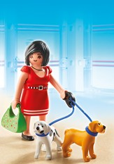 PLAYMOBIL ® Woman with Puppies
