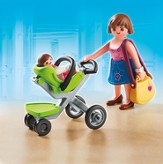 PLAYMOBIL ® Mother with Infant Stroller