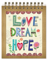 Love Hope Dream Easel Book