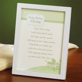Irish Baby Blessing Framed Print