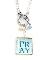 P R A Y Necklace